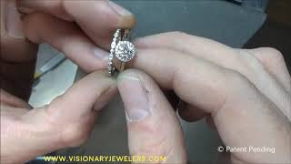ETERNAL CONNECTIONS©- ring attachment component--Wear your rings together or separate!