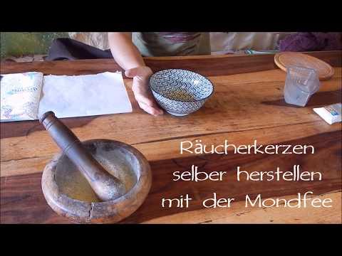 Räucherkerzen selber machen - DIY Räucherstäbchen, Räucherkegel