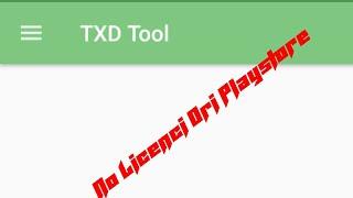 txd tool apk no license