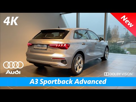 Audi A3 2021 | Advanced vs S Line quick look in 4K