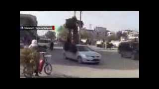 preview picture of video 'الجيش الحر يستولي على مواقع هامة في الغوطة الشرقية وفرحة عارمة في الشارع 24 نوفمبر، 2013'