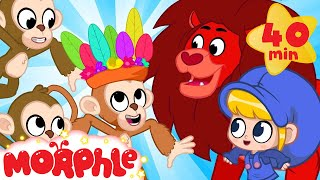 Morphle Visits The Jungle!! - My Magic Pet Morphle   Cartoons For Kids   Morphle TV   BRAND NEW