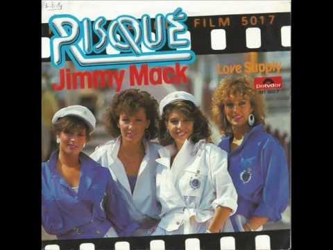 """Risqué Jimmy Mack. 7"""" Singel Remasterd By B.v.d.M. 2013"""
