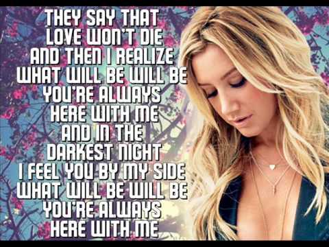 Ashley Tisdale - You're always here LYRICS ON SCREEN [ NEW SONG ]