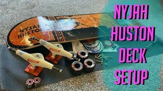 Skateboard Setup Element Nyjah Huston Deck |4k Build|