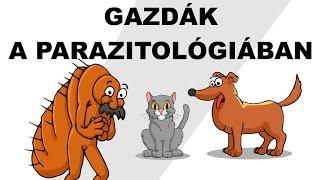 Gazdák a parazitológiában