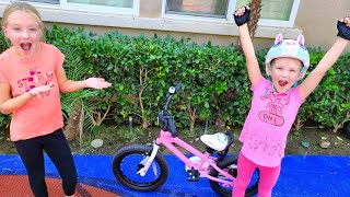 It's Official!!! Madison Can Ride a Bike Without Training Wheels!