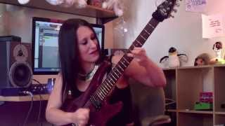 Dream Theater (Awake) - Scarred Solo - John Petrucci Cover by Steph Goyer
