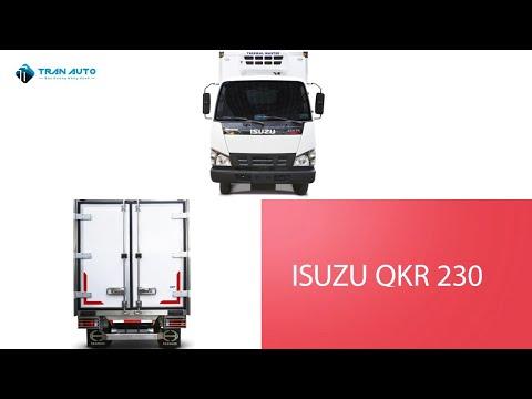 Xe tải Isuzu QKR 230 trên nền thùng đông lạnh tại Tran Auto