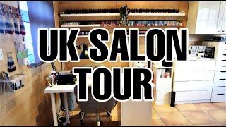 TOUR: Full UK Nail Room Tour - My Home Salon!