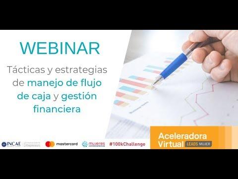 WEBINAR: Tácticas y estrategias para manejo de flujo de caja y gestión financiera