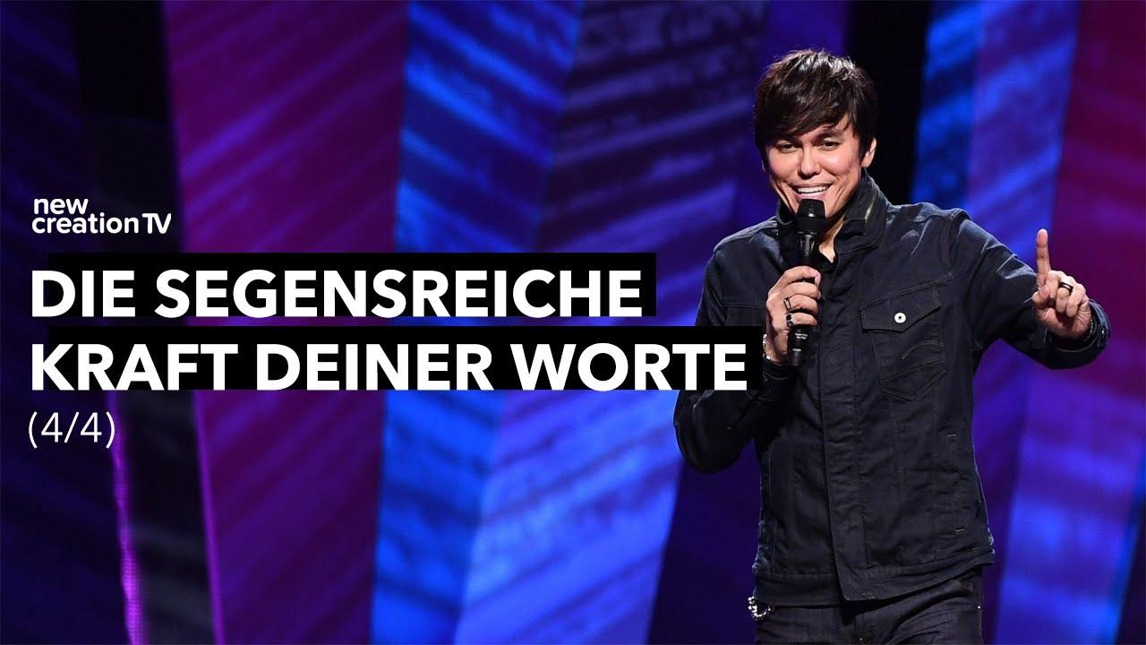 Die segensreiche Kraft deiner Worte 4/4 – Joseph Prince I New Creation TV Deutsch