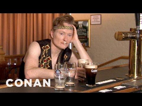Conan se učí irské tance