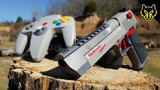 N64 vs Nintendo Zapper .50 Cal Desert Eagle