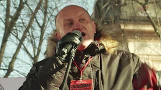 Manifestacja Klubów Gazety Polskiej – Mocne wystąpienie Mariana Kowalskiego