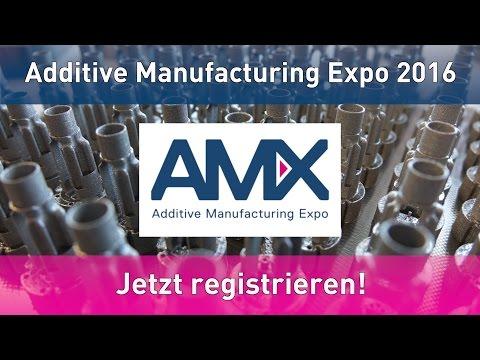 Neuartiges addAM Konzept zur Premiere der Additive Manufacturing Expo AMX in Luzern vorgestellt.