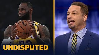 Chris Broussard defends LeBron passing the final shot to AD in loss to Nets | NBA | UNDISPUTED