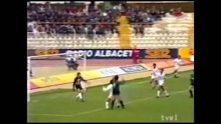 Albacete 0 - Sestao 0. Temp. 90/91. Jor. 32
