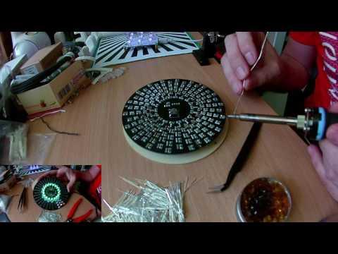 DIY Electronic Aurora Kit RGB LED Flashing Kit from Banggood