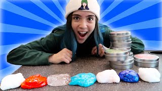 MIXING ALL MY PUTTY SLIME!!