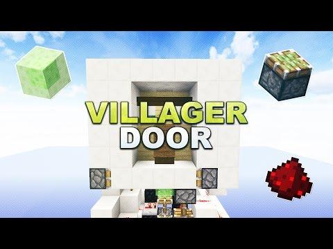Minecraft - Villager Door - Tutorial 1.13