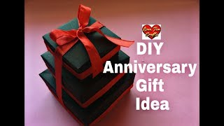 DIY - Anniversary Gift Idea | Valentines Day/ Anniversary Card