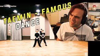 Ellis Reacts #794 // React to Taemin - Famous Dance Practice // Taemin's dancing is always perfect.