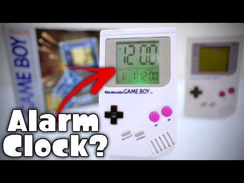 RETRO NINTENDO [GAME BOY] ALARM CLOCK