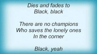 Dio - Black Lyrics