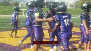 Saalem Frinks | SixSic All Star Game Highlights | RB/LB