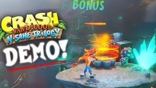 DEMO PÚBLICO, NIVELES NUEVOS y NUEVA EDICIÓN LIMITADA! (Crash Bandicoot N.Sane Trilogy Noticias)