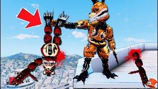 Twisted Freddy VS Corrupted Freddy! (GTA 5 Mods FNAF RedHatter)