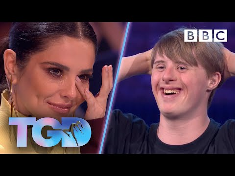 Watch video  Inspiring dancer Andrew leaves Cheryl in floods of tears - The Greatest Dancer | Auditions