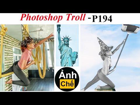 Ảnh Chế – Nữ Thần Quét Rác 💓 Photoshop Troll (P 194), James Fridman