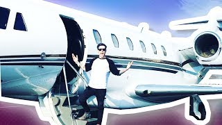 MY OWN PRIVATE JET?!?