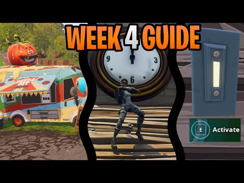 Fortnite Week 4 Challenges Guide Shooting Gallery Locations