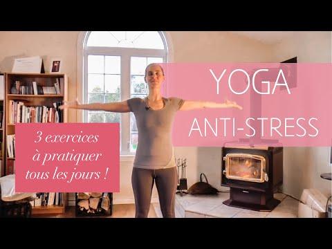 Les 3 exercices de yoga à pratiquer tous les jours avec MARYSE LEHOUX