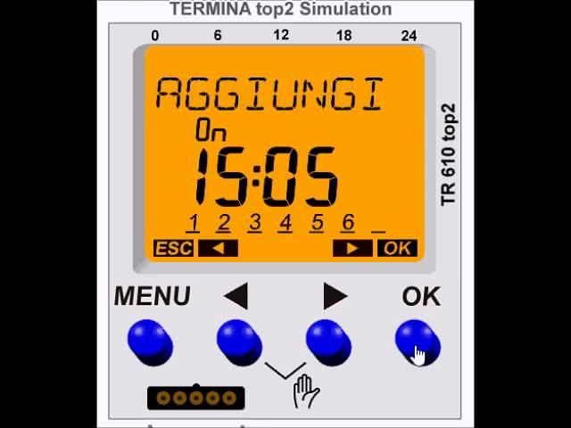 Công tắc thời gian kỹ thuật số - TR 610Top2