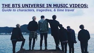BTS Music Videos have a Fictional Universe: Guide to Characters