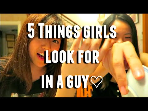 5 Things Girls Look for In a Guy