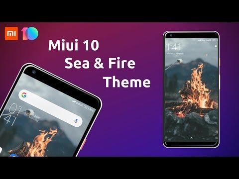 Top 5 Best MIUI 10 Themes In February 2019 🔥🔥 - смотреть