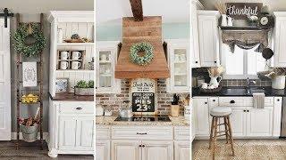 ❤DIY Rustic Shabby Chic Style Kitchen Decor Ideas❤   Farmhouse Decor Ideas  Flamingo Mango