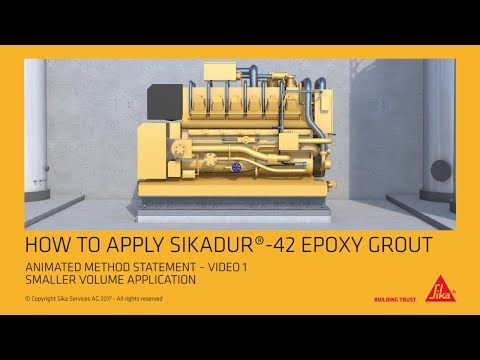Sikadur 42 Epoxy Grout