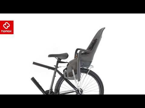 Смотреть видео Детское велокресло Hamax Caress Zenith