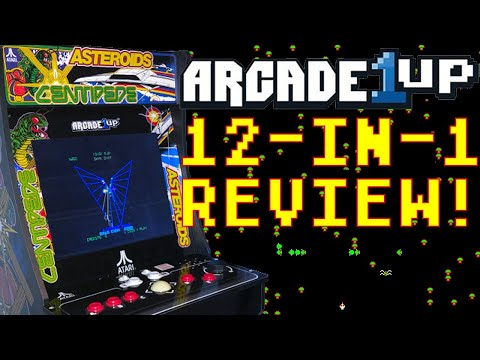 Arcade1Up Atari Deluxe Arcade Cabinet - 12 Games & Riser For $500