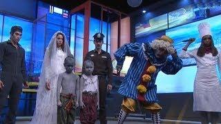 'น้องมาเรีย' นำทีมแก๊ง 7 ตุ๊กตาผี มาหลอนในครอบครัวบันเทิง ฝากบอกน้องๆ #เป็นเด็กดีตุ๊กตาผีจะคุ้มครอง