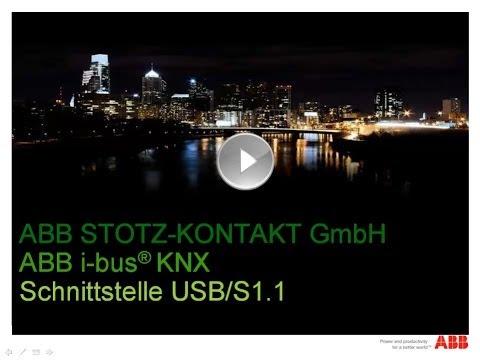 ABB i-bus KNX - Tutorial zu USB Schnittstelle in der ETS einrichten