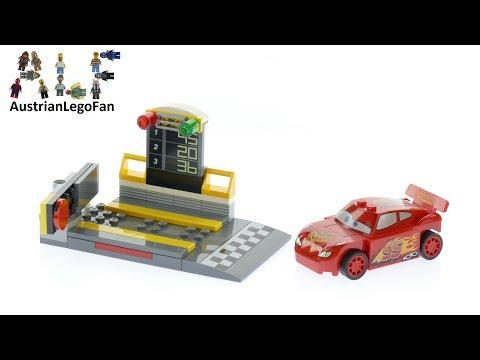 Vidéo LEGO Juniors 10730 : Le propulseur de Flash McQueen