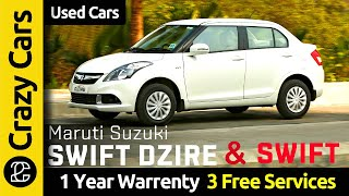 Maruti Swift Dzire & Swift Collection | Certified Cars | True Value | Used cars for Sale | CrazyCars