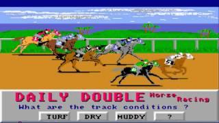 AMIGA Daily Double Horse Racing AMIGA OCS 1989 Artworx Software cr PNA adf zip